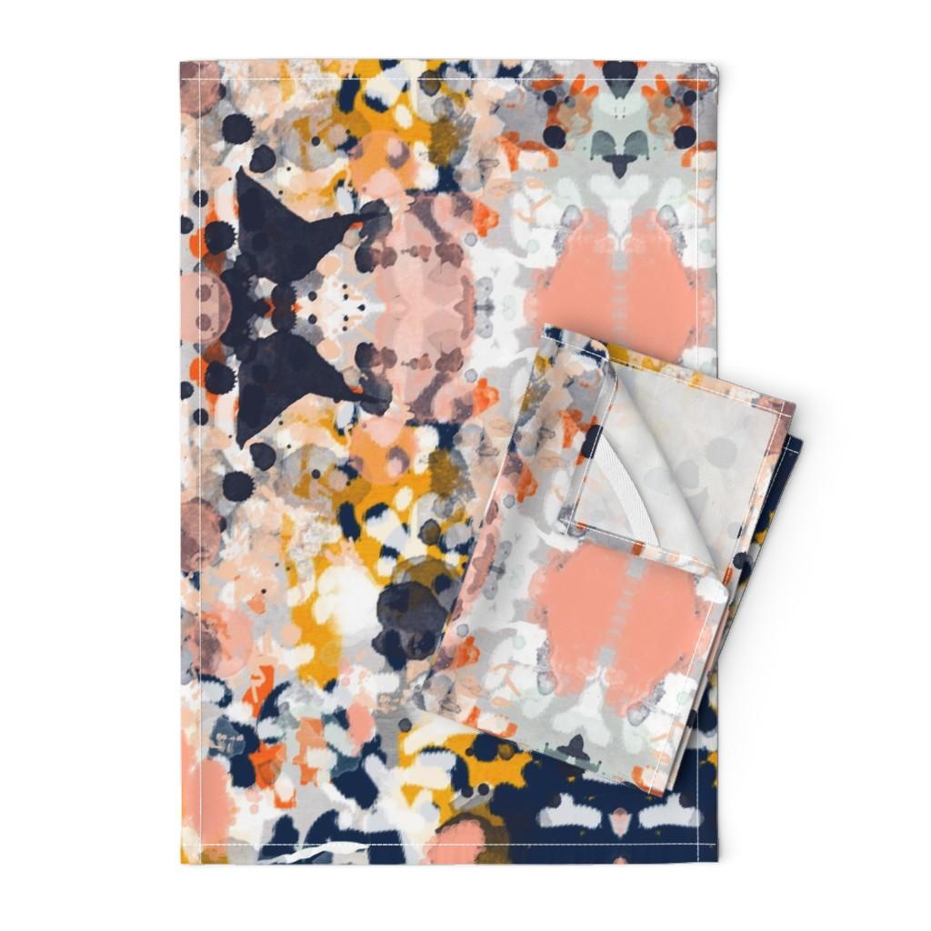 Modern Art Print Fabric