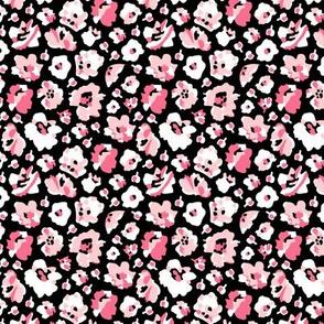 mod girl floral pink