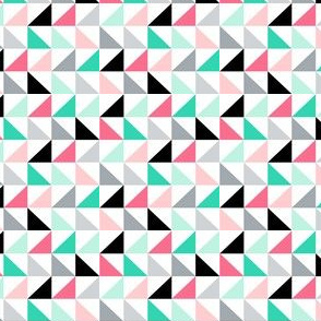 mod girl triangles multi