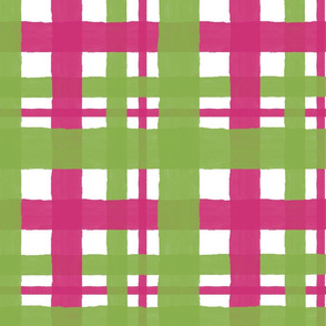 Greenery_and_Pink_Yarrow_Plaid