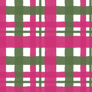 Pink_Yarrow_and_Kale_Plaid