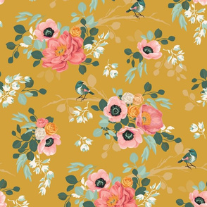 Spring Mustard Floral '17