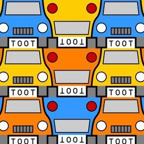 06117008 : taxi 2j 3 : blue + yellow + orange
