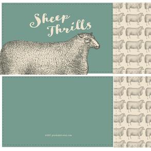 Sheep Thrills Cut 'n' Sew-Sage