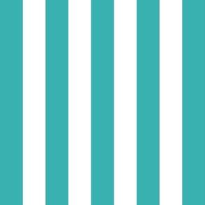 stripes lg teal vertical