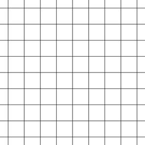"""dark grey windowpane grid 2"""" square check graph paper"""