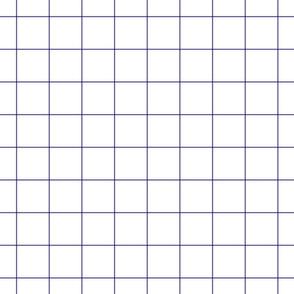 """purple windowpane grid 2"""" square check graph paper"""