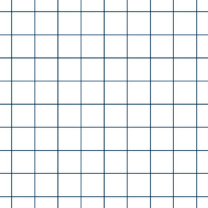 "navy blue windowpane grid 2"" square check graph paper"