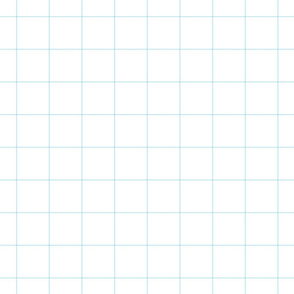 "ice blue windowpane grid 2"" square check graph paper"