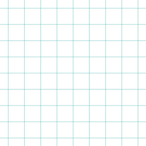 "light teal windowpane grid 2"" square check graph paper"
