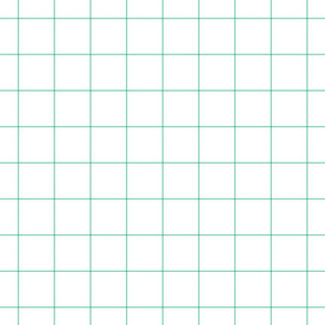 """sea foam green windowpane grid 2"""" square check graph paper"""