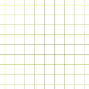 "lime green windowpane grid 2"" square check graph paper"