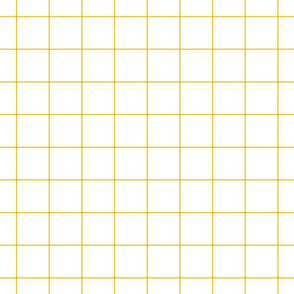 "mustard yellow windowpane grid 2"" square check graph paper"