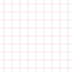 "light pink windowpane grid 2"" square check graph paper"