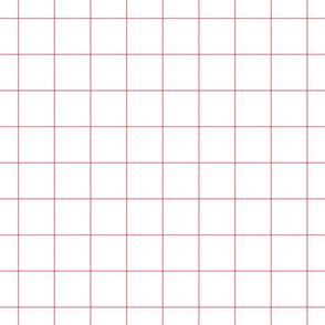 "berry cream windowpane grid 2"" square check graph paper"