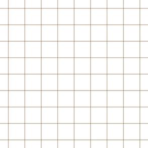 """tan windowpane grid 2"""" square check graph paper"""