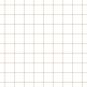 "toasted nut windowpane grid 2"" square check graph paper"