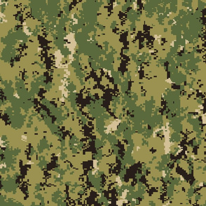 Navy Woodland Camo AOR 2 Lighter Colorway