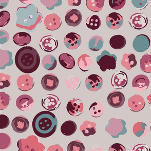 be_mine_button_pattern_seamless