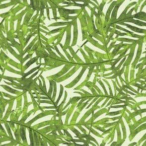 Rainforest Leaves - Green