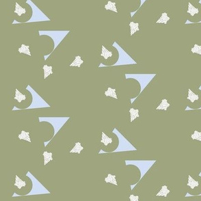 triangulation on green