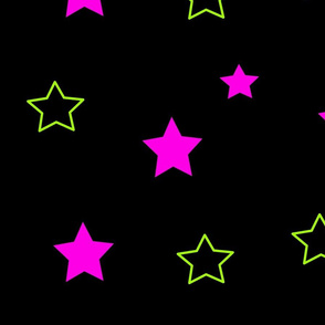 Oh my Stars pink not lime