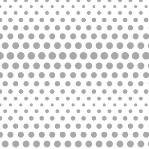 halftone dots grey
