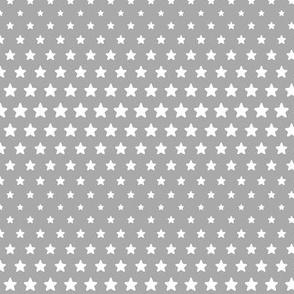 halftone stars grey reversed