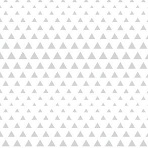 halftone triangles light grey