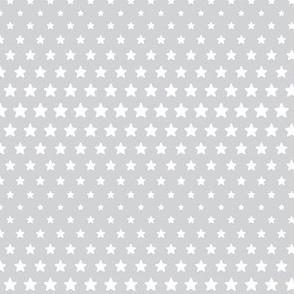 halftone stars light grey reversed