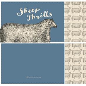 Sheep Thrills Cut 'n' Sew- Blue