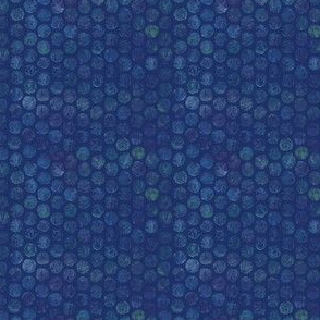 Armadillo Dots Blue