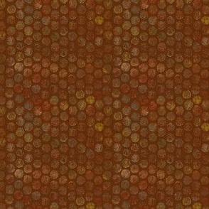 Armadillo Dots Pumpkin