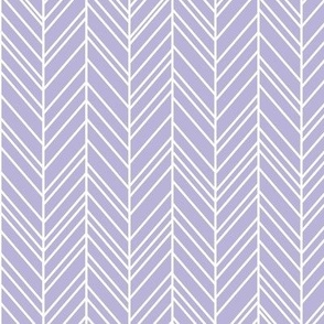 herringbone feathers light purple