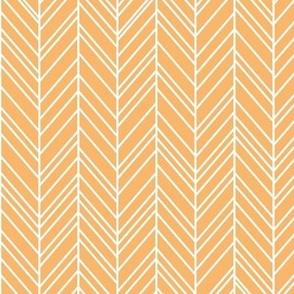 herringbone feathers mango
