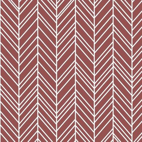 herringbone feathers wine