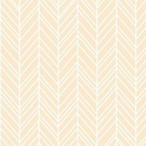 herringbone feathers ivory