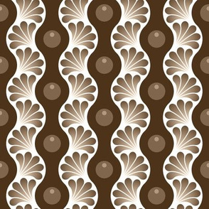 06129198 : wavy splash : sepia coffee stain