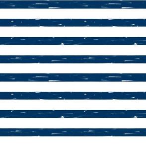 sailor stripes // navy stripe fabric summer nautical design