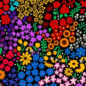 Floral Ditsy Brights 2