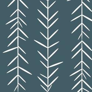 grass thyme herbs - dusty blue