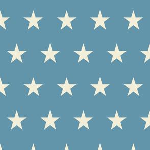 Vintage Flag - Medium Star