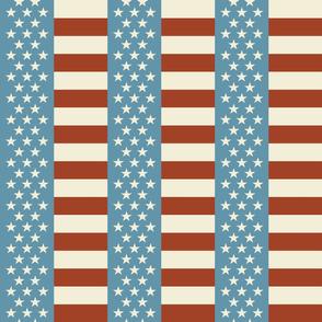 Vintage Flag - Stars and Bars