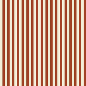 Vintage Flag - Half Inch Stripes