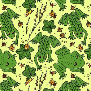 Frogs and cloudberries