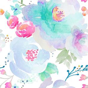 Indy Bloom Design Floral blues C