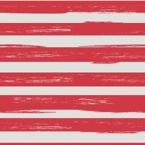 distressed red stripes
