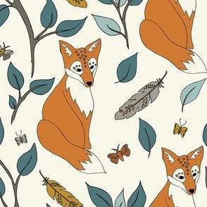 Spirit  Fox - Ivory