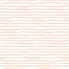 Light Peach Stripes / She is Fierce