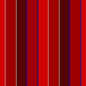 Red 4th of July Stripes